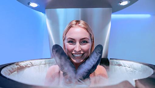 Zdjęcie Cryochamber, cold treatment