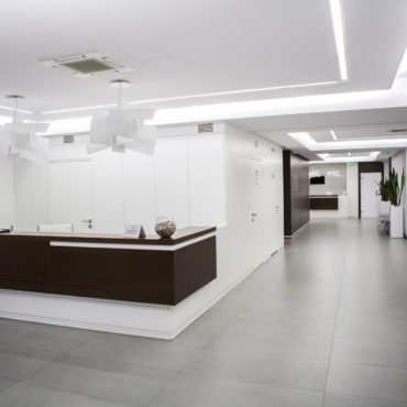 Poradnia Wnętrze kliniki